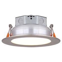 Canarm 4 po disque de lumière de nickel brossé DEL- ENERGY STAR®
