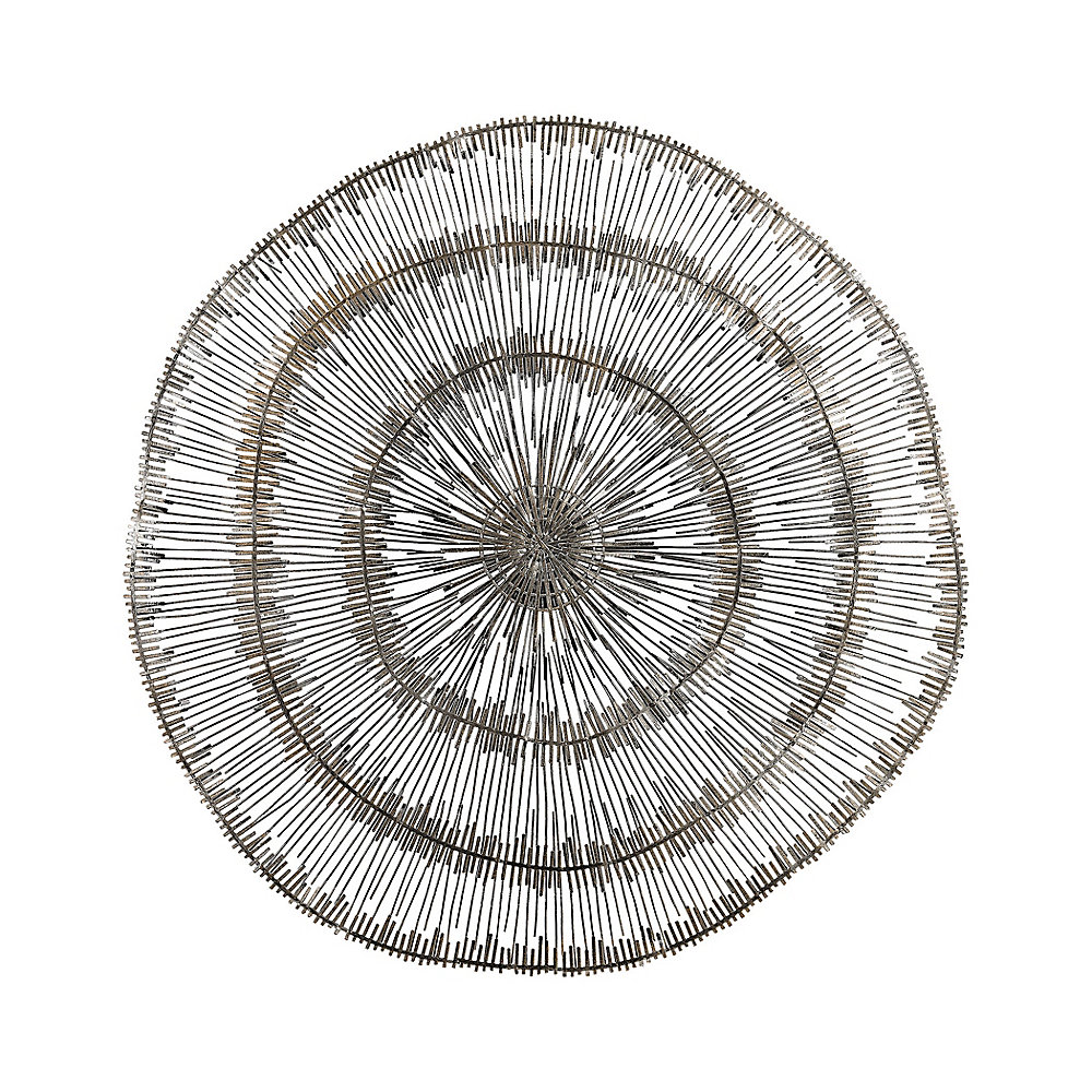 Pewter Wire Wall Supernova