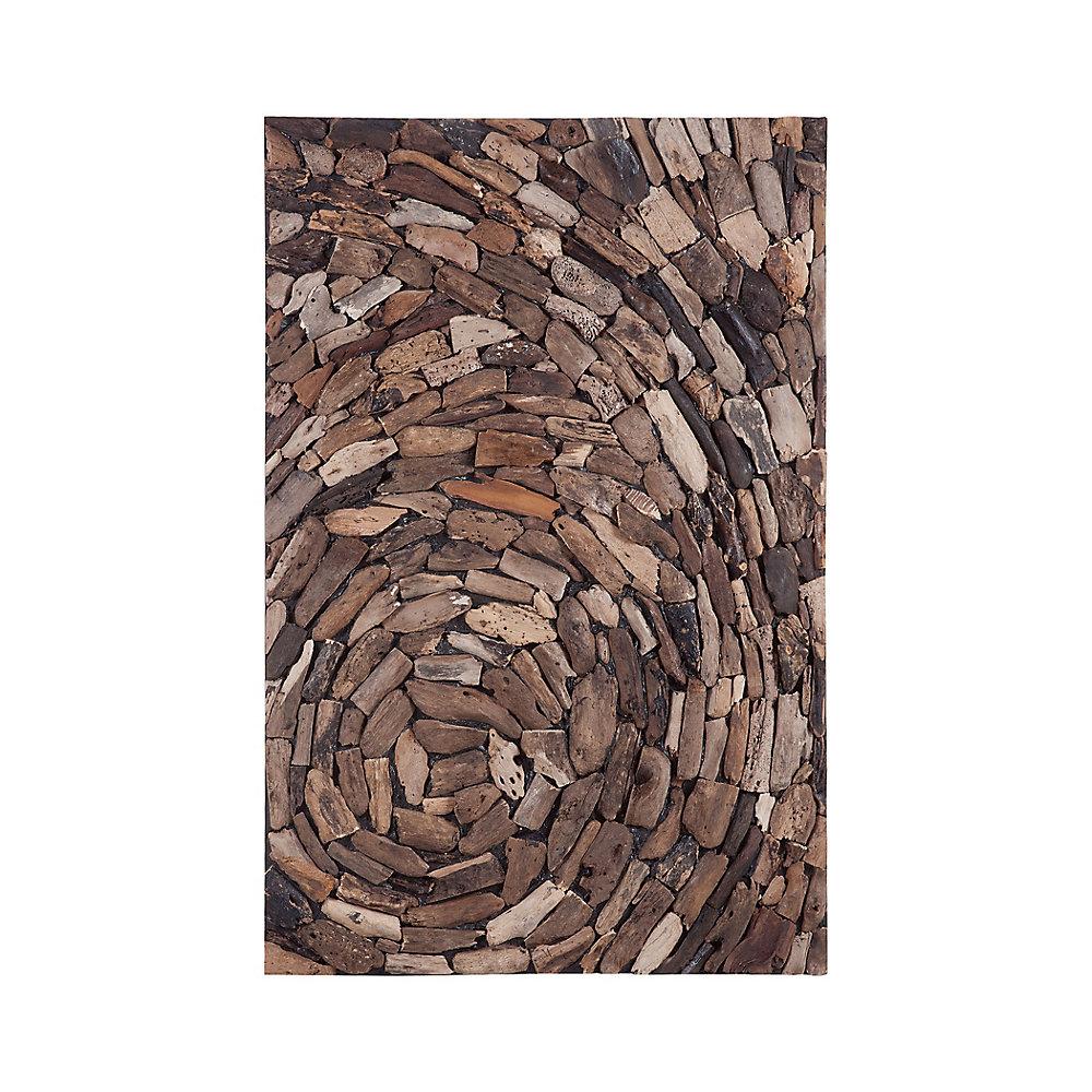 Driftwood Whirl Wall Art