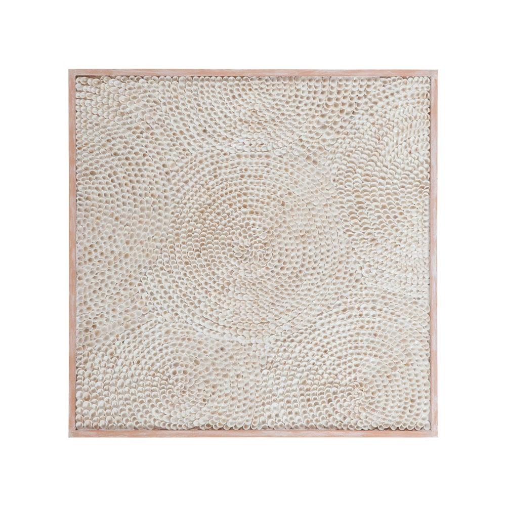 Mosaique coquillage naturels