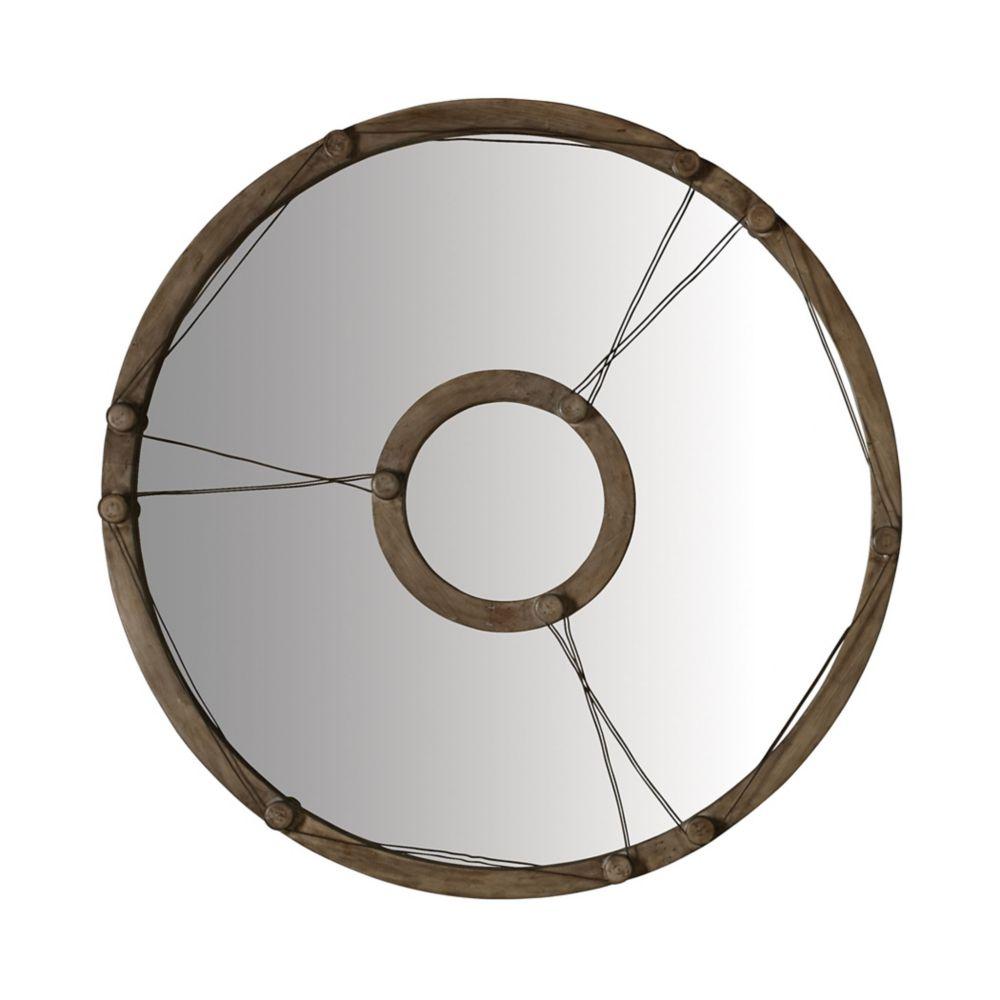 Miroir équation en câble de métal