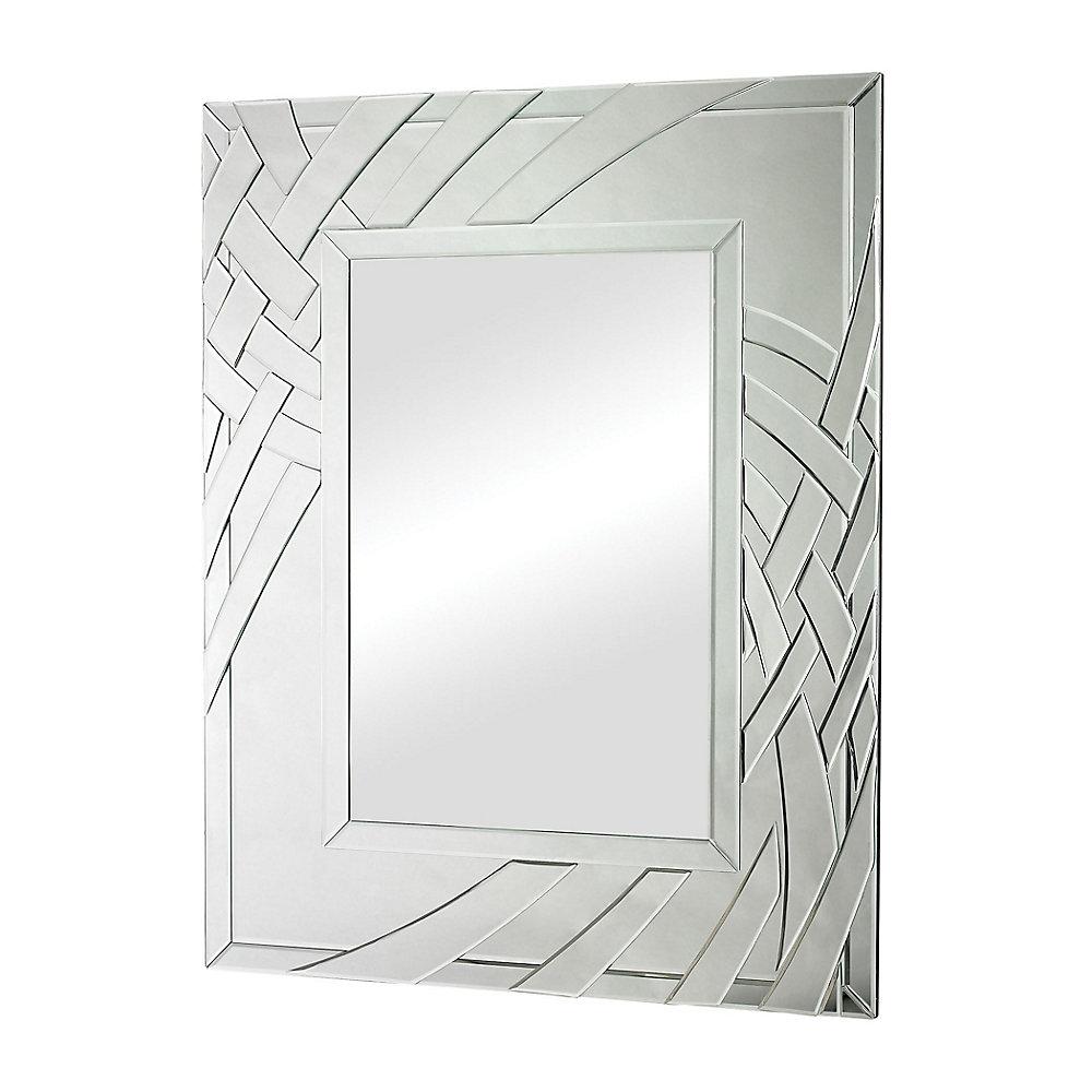 Miroir Rubans arqué avec bordure biseauté