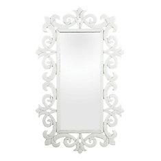 Miroir en verre Haylee défilé