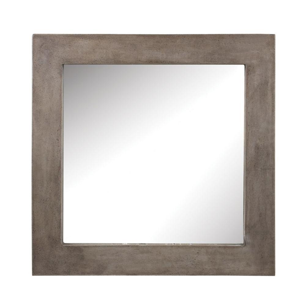 Cubo Cement Mirror