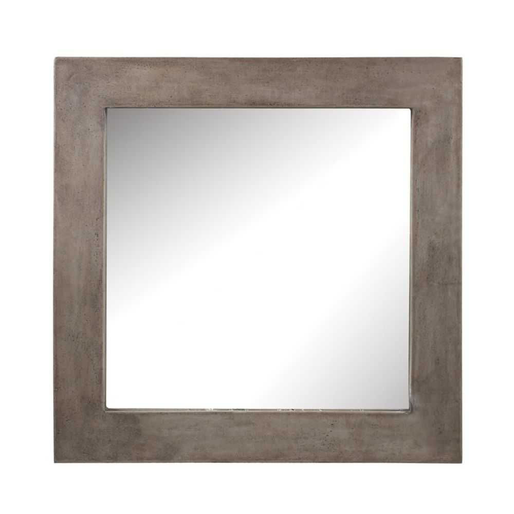Titan Lighting Cubo Cement Mirror