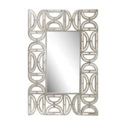 Titan Lighting Miroir murale rectangulair avec cadre motif D