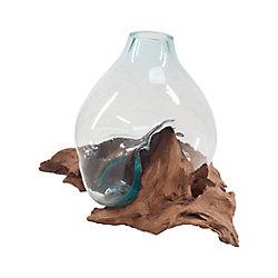 Titan Lighting Driftwood Glass Bottle
