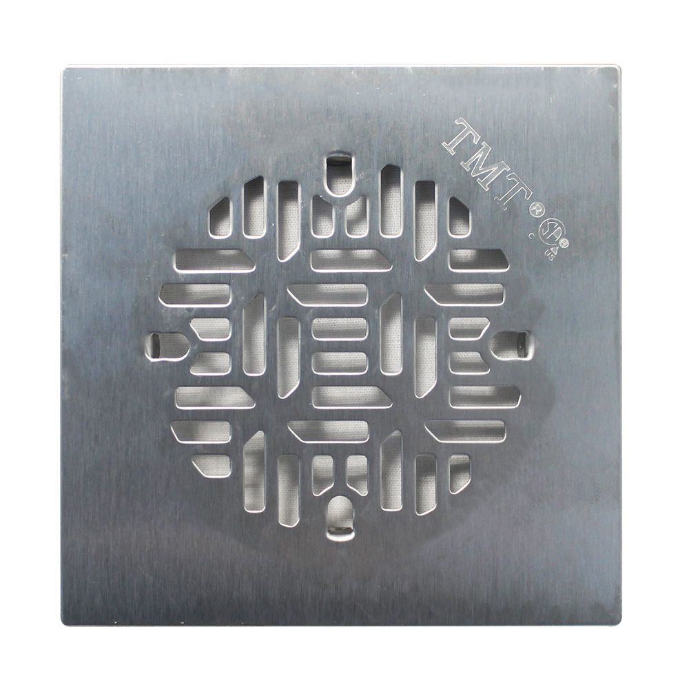 Floor Choice 4.25 inch Bamboo Square Shower Drain