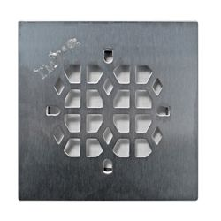 Floor Choice 4.25 inch Abstract Square Shower Drain