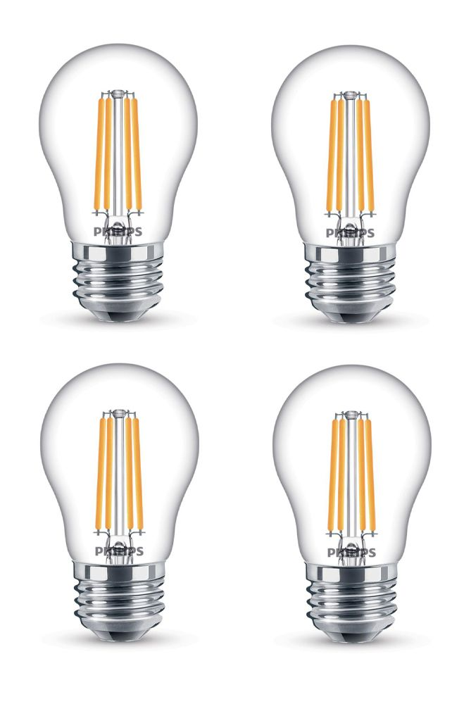 LED 25W A15 Filament Clear (2200K) - Case of 6 Bulbs