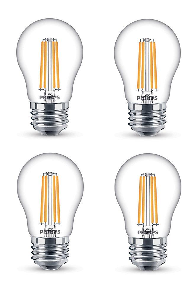 LED 25W A15 Filament Clear (2200K) - Case of 4 Bulbs