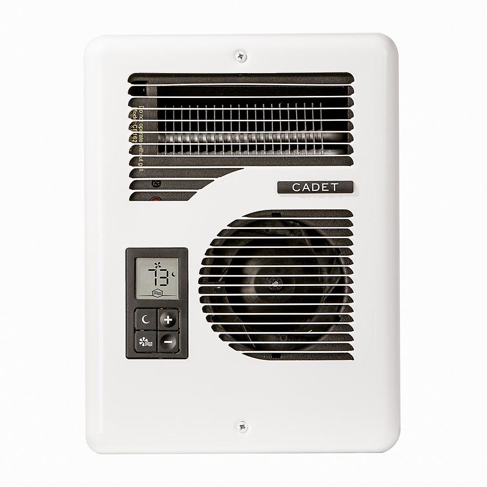 Energy Plus Electric Wall Heater, Multi-Volt, Complete Unit, White
