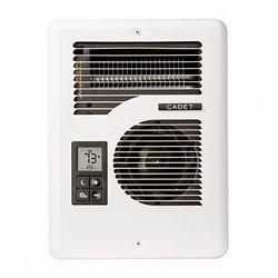 Cadet Energy Plus Electric Wall Heater, Multi-Volt, Complete Unit, White