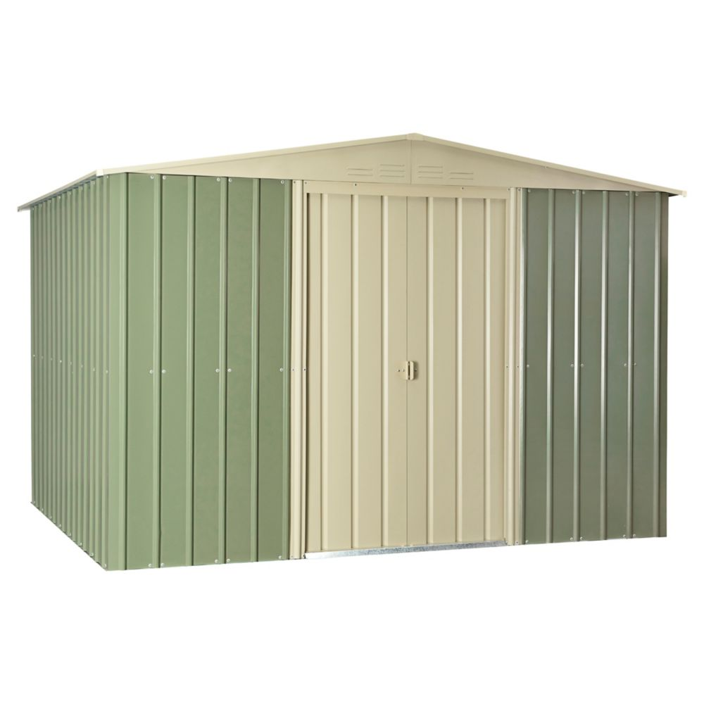10 Feet  x 8 Feet  Steel Storage Shed