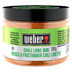 Weber 128g Chili Lime Rub