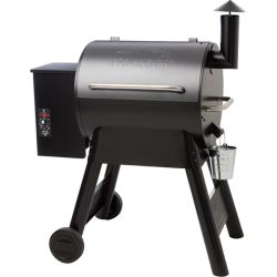 Traeger Eastwood 22 Wood Fired BBQ in Silver Vien