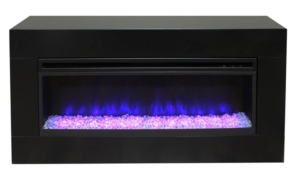 Bolton 60 Inch Electric Fireplace