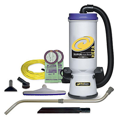 HEPA Commercial Backpack Vacuum Cleaner