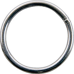 Everbilt 2 inch Stainless Steel Welded Harness Ring - 2-Piece