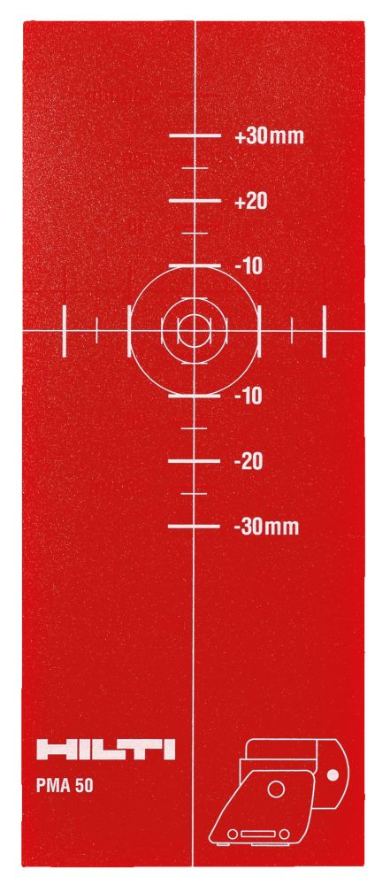 PMA 55 Multi-Directional Laser Target Plate (3-Piece)