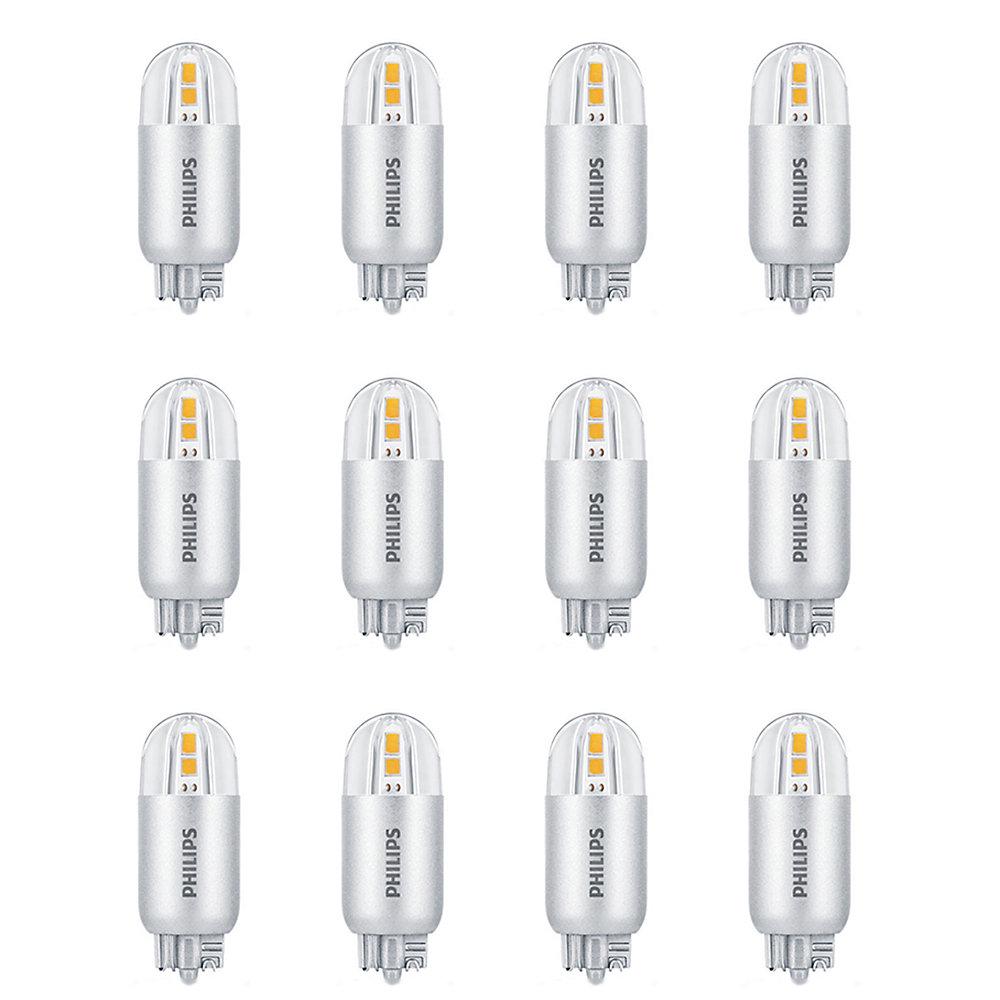 DEL 7 W T5 capsule culot poussoir, Lumière blanc brillant - (3 000  ), Non-gradable - Cas de 12 Ampoule- ENERGY STAR®