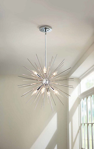 Home Decorators Collection Altino 7-Light Pendant Light Fixture in ...
