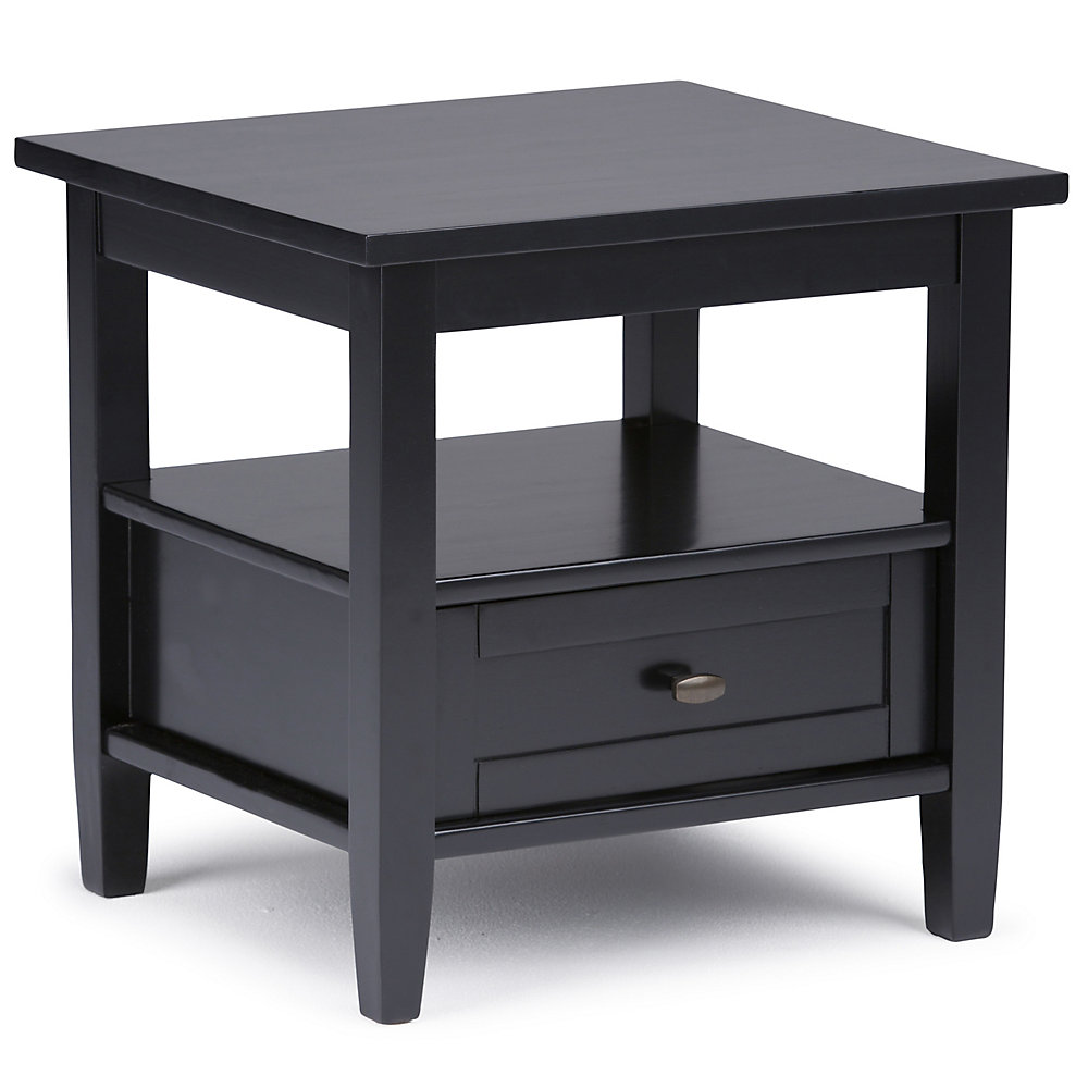 Magnificent Warm Shaker End Side Table Home Interior And Landscaping Fragforummapetitesourisinfo