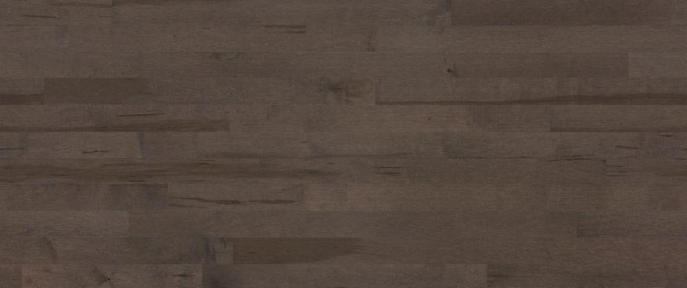 3/4-inch Thick x 3 1/4-inch W Maple Hardwood Flooring in Dark Grey Satin(22 sq. ft. / case)