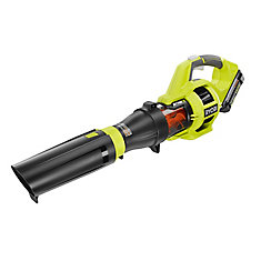 110 MPH 480 CFM Variable-Speed 40-Volt Lithium-Ion Cordless Jet Fan Leaf Blower with Battery