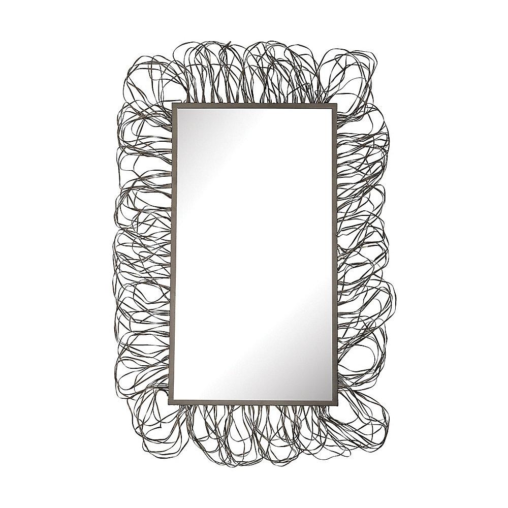 Miroir cadre griffonné