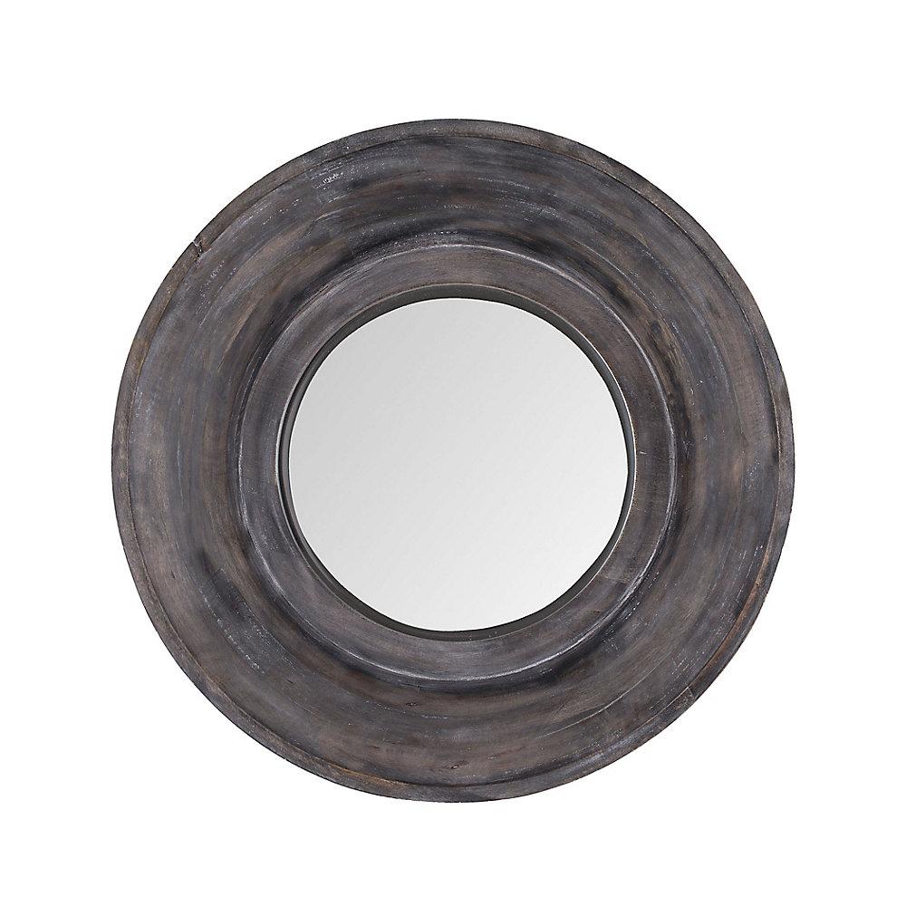 Miroir hublot teint gris foncé