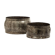 Fortress Barrel Dishes - Set Of 2