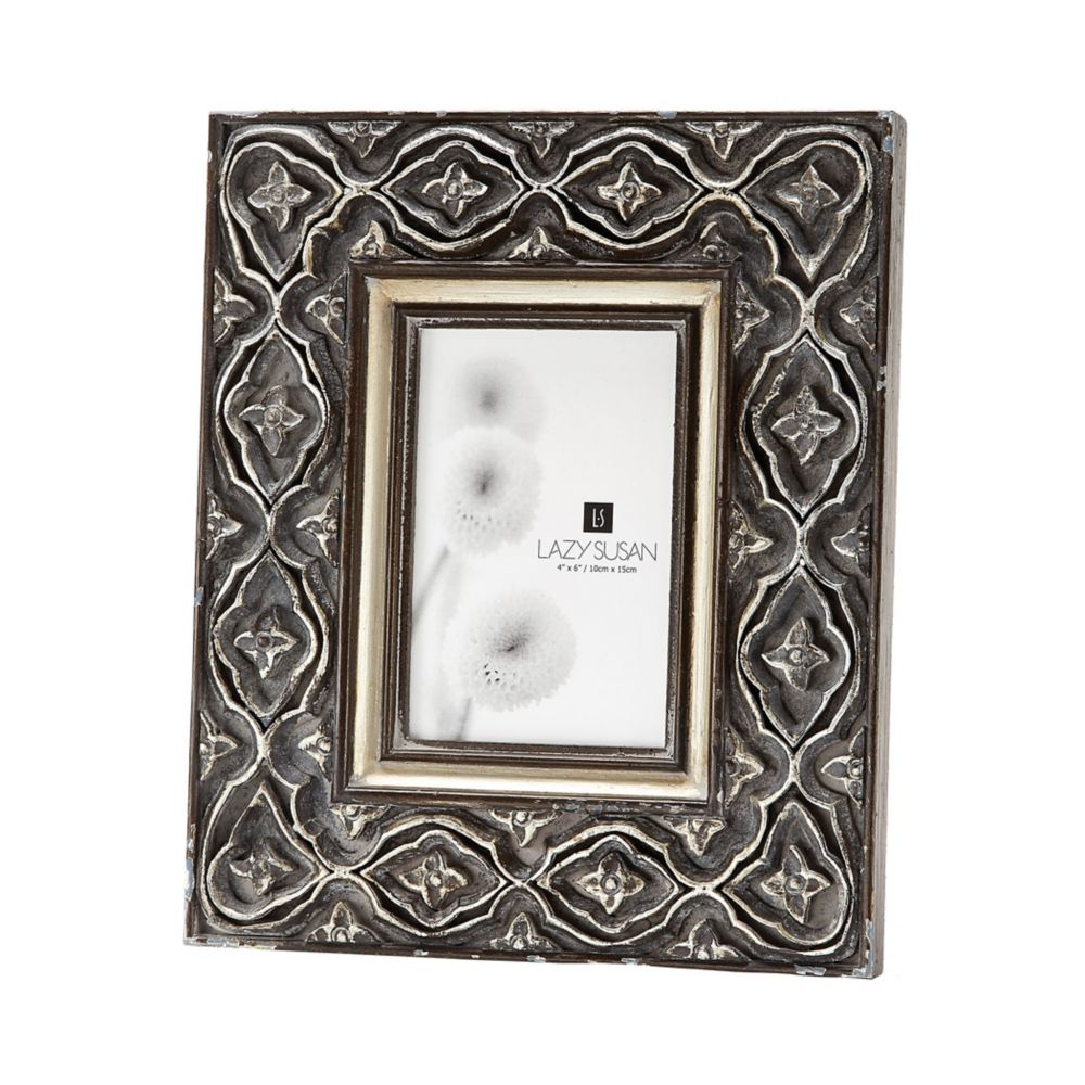 Hand Carved Ornate Frame - 4 X 6