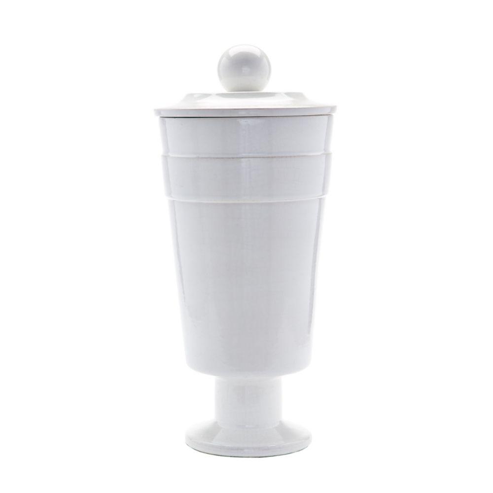White Polar Vase - Large