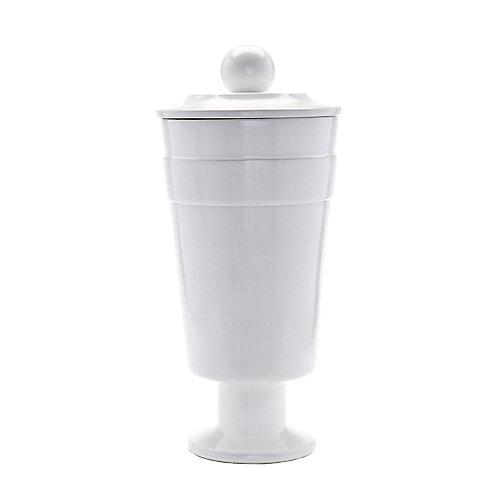 Vase blanc polaire - grand