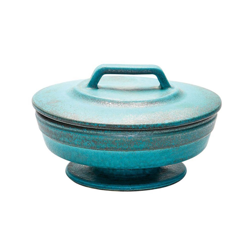 Metallic Patina Vase  - Small
