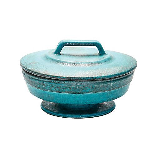 Vase métallique Patina - petit