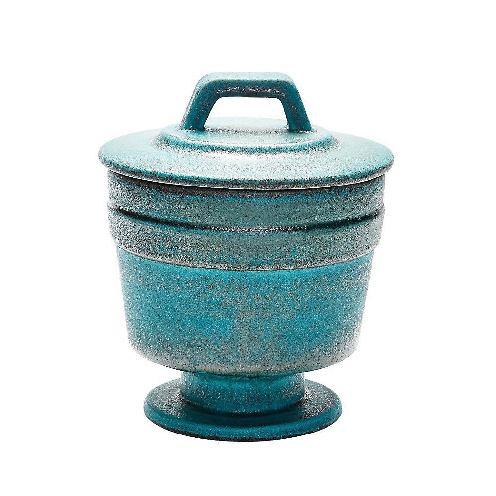 Vase métallique Patina - moyen
