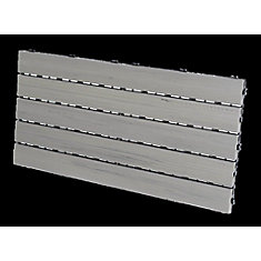 Eon 12-inch x 24-inch Deck & Balcony Tiles in Grey (5-Pack)