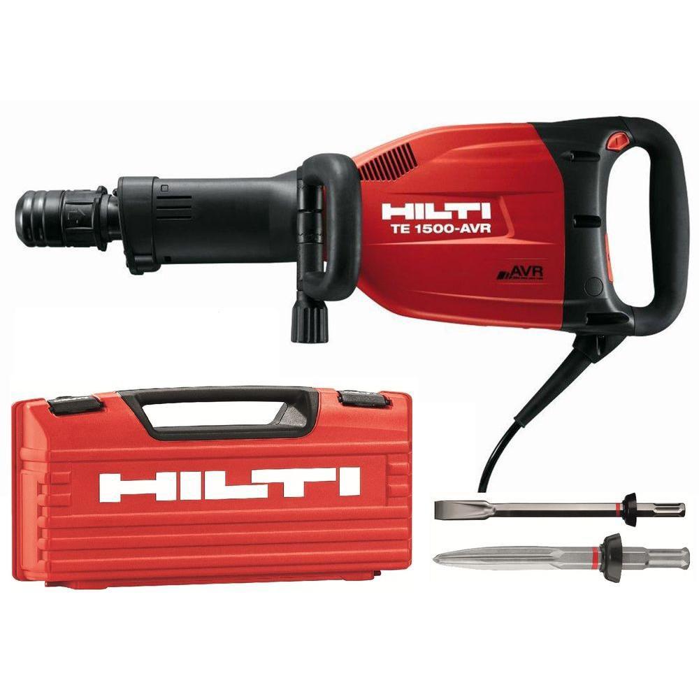 120-Volt Demolition Hammer TE 1500-AVR Performance Package