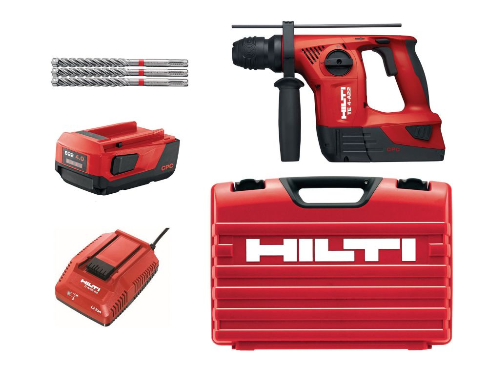 TE 4-A 18-Volt Lithium-Ion SDS Plus Cordless Rotary Hammer Drill