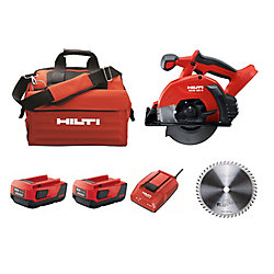 Hilti SCM 18-Volt Lithium-Ion Cordless Metal Cutting Circular Saw