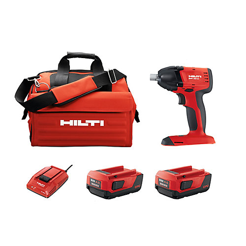 SIW 18-Volt Lithium-Ion 3/8 Inch Cordless Impact Wrench