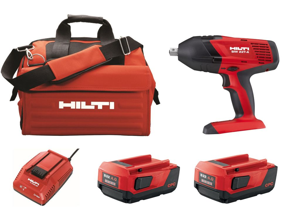 SIW 18-Volt Lithium-Ion 1/2 Inch High Torque Cordless Impact Wrench