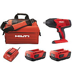 Hilti SIW 18-Volt Lithium-Ion 1/2 Inch High Torque Cordless Impact Wrench