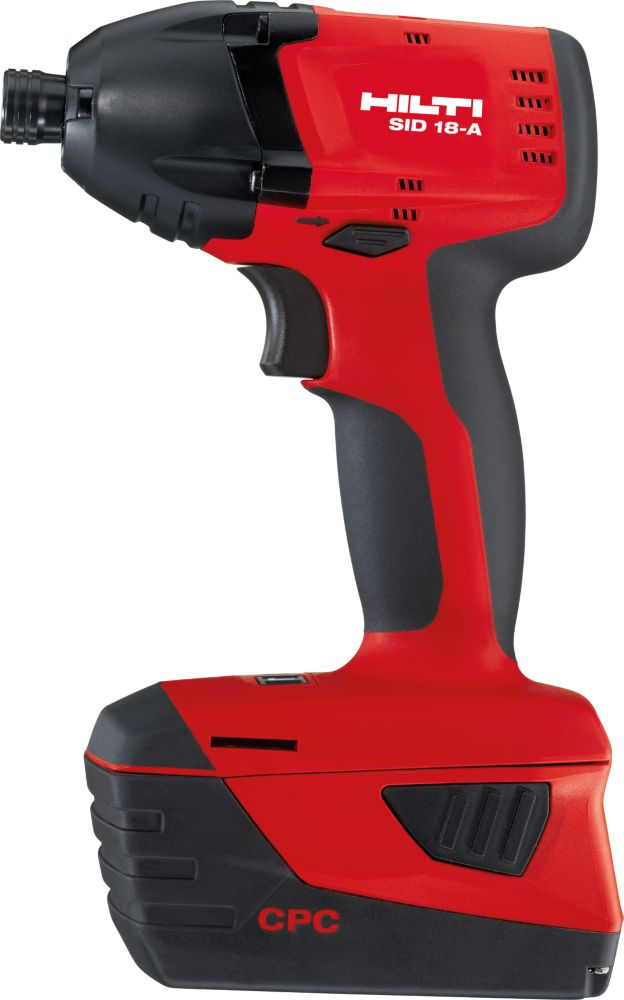 SID 18-Volt Lithium-Ion 1/4 Inch Hex Cordless Impact Driver