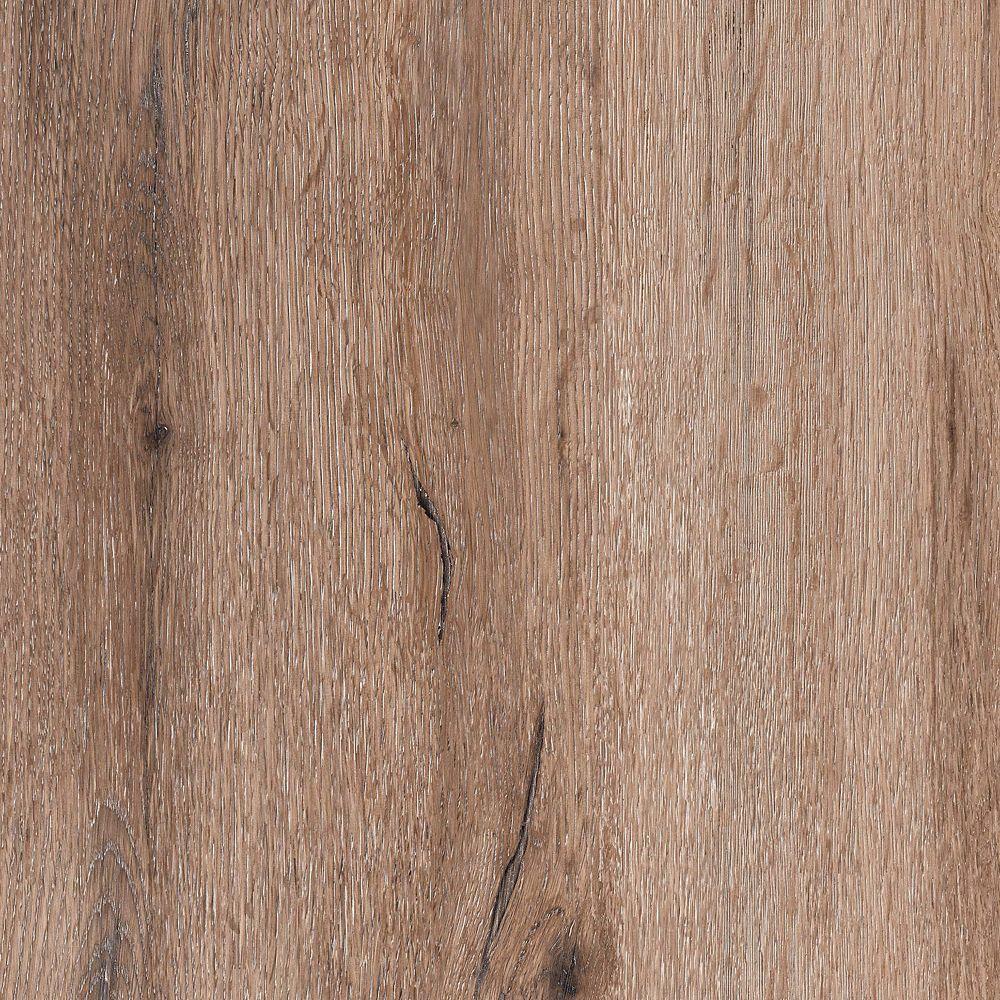 8.7  Inch X 60  Inch Riven Oak Beige Luxury Vinyl Plank Flooring (21.6 Sq. Feet /Case)