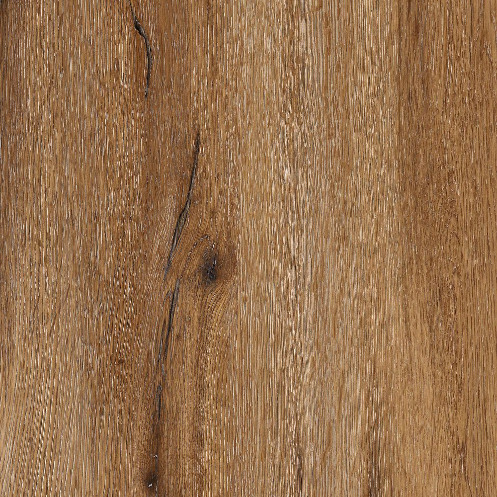 8.7  Inch X 60  Inch Riven Oak Brown Luxury Vinyl Plank Flooring (21.6 Sq. Feet /Case)