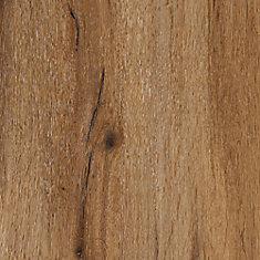 Verrouillage plancher de vinyle de luxe, 8,7 po x 60 po (21,6 pi2 / caisse), brun chêne citronné