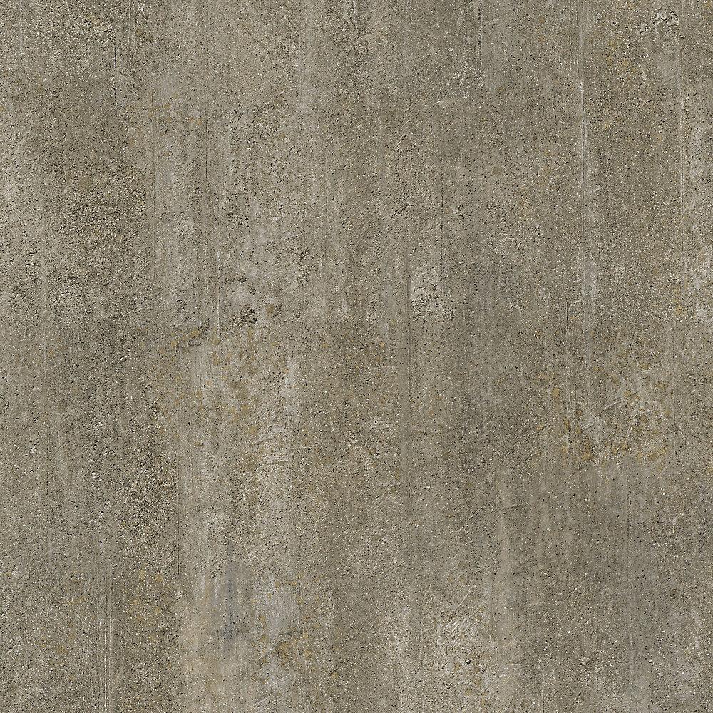 Locking Golden Concrete 12-inch X 23.82-inch Luxury Vinyl